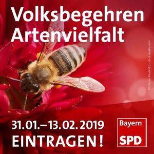 """""""Volksbegehren Rettet die Bienen"""""""